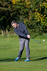 """""""The Egg Chasers"""" team take part in the Bristol Rovers charity golf day - Mandatory byline: Rogan Thomson/JMP - 07966 386802 - 12/10/2015 - GOLF - Farrington Park Golf Club - Bristol, England - Bristol Rovers Golf Day."""