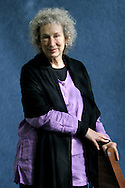 Globally-renowned, bestselling Canadian author Margaret Atwood is pictured at the Edinburgh International Book Festival prior to talking about her career. The Edinburgh International Book Festival is the world's largest literary event, with over 500 authors from across the world participating each year and ran from 13-29 August. Edinburgh was named the world's first UNESCO City of Literature in 2004.