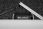 Plovdiv BULGARIA. 2017 FISA. Rowing World U23 Championships. Belarus, Boat Stand, Sling, Trestle.<br /> <br /> Wednesday. PM, general Views, Course, Boat Area<br /> 12:32:43  Wednesday  19.07.17   <br /> <br /> [Mandatory Credit. Peter SPURRIER/Intersport Images].