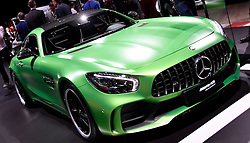 Nov 16, 2016. Los Angeles CA. Mercedes ST-R  on display during the media day at the Los Angeles Auto show Wednesday. The show opens to the public on Nov 18th to the 27th.  photos by Gene Blevins/LA DailyNews/ZumaPress. (Credit Image: © Gene Blevins via ZUMA Wire)