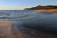 Otter Creek and Lake Michigan meet ~ Esch Road Beach<br /> Sleeping Bear Dunes National Lakeshore