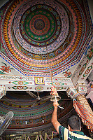 Colorful Dome Ceiling, Jaipur, India