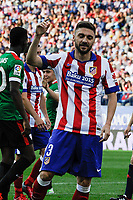 Atletico de Madrid´s Guilherme Siqueira during 2014-15 La Liga match between Atletico de Madrid and Athletic Club at Vicente Calderon stadium in Madrid, Spain. May 02, 2015. (ALTERPHOTOS/Luis Fernandez)