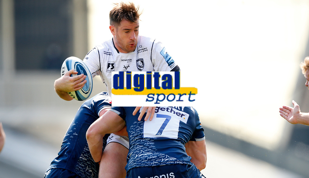 Caption Template Rugby Union - 2020 / 2021 Gallagher Premiership - Round 16 - Sale Sharks vs Gloucester - AJ Bell Stadium<br /> <br /> Ed Slater of Gloucester Rugby and Tom Curry of Sale Sharks<br /> <br /> Credit COLORSPORT/LYNNE CAMERON