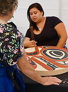 Totem carvers, First Americans, Victoria, Canada