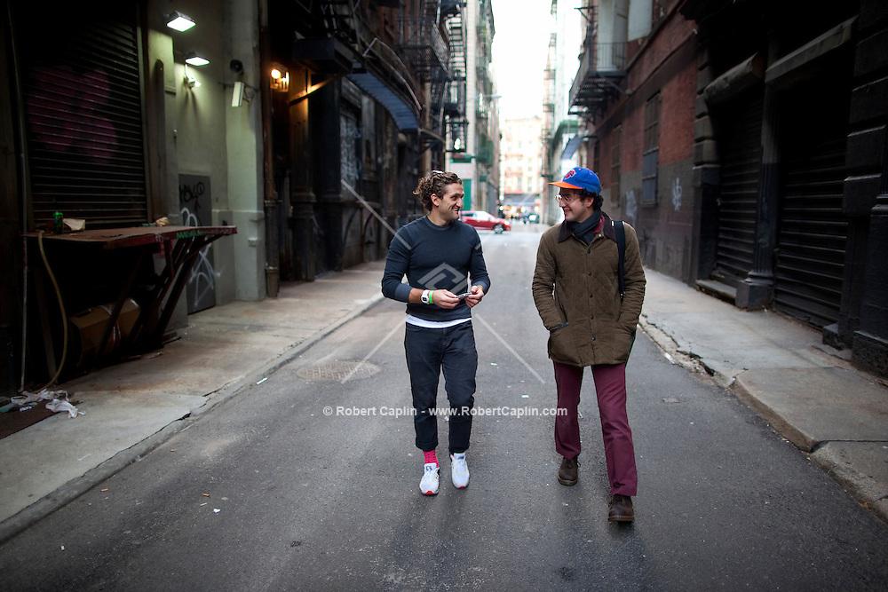 Filmmaker Casey Neistat New York City Studio.<br /> <br /> Photo by Robert Caplin