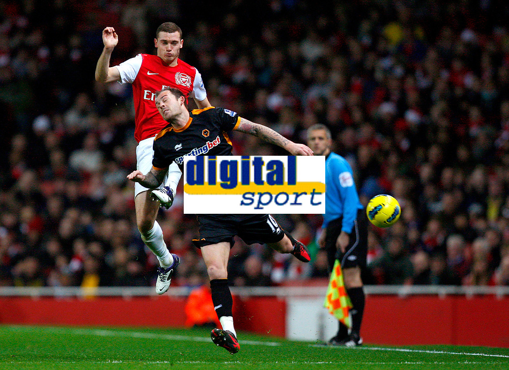 20111227: LONDON, UK - Barclays Premier League 2011/2012: Arsenal vS Wolverhampton Wanderers.<br />