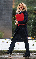 © Licensed to London News Pictures. 01/03/2018. London, UK. Secretary of State for Work and Pensions Esther McVey on Downing Street for a meeting of the Cabinet ahead of Prime Minister Theresa May's speech on Brexit. Photo credit: Rob Pinney/LNP