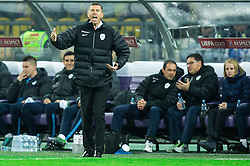 Srecko Katanec, head coach of Slovenia during the UEFA EURO 2016 Play-off for Final Tournament, Second leg between Slovenia and Ukraine, on November 17, 2015 in Stadium Ljudski vrt, Maribor, Slovenia. Photo by Vid Ponikvar / Sportida