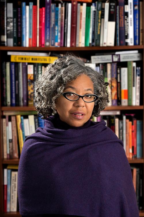 © Photo by Mara Lavitt<br /> January 20, 2020<br /> New Haven, CT<br /> <br /> Daphne Brooks<br /> <br /> William R. Kenan, Jr. Professor of African American Studies, American Studies, and Women's, Gender & Sexuality Studies<br /> Yale University<br /> <br /> Director of Graduate Studies, Dept. of African American Studies