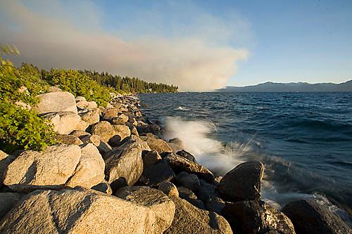 Angora Fire. South Lake Tahoe, CA