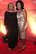 13 September 2010- New York, NY- l to r: Cathy Hughes and Michelle Ebanks at Essence Magazine's Fierce & Fabulous Awards Luncheon honoring exceptional Women who are making a difference in the world sponsored by Buick and Clinique held at The Mandarian Oriental on September 13, 2010 in New York City. Photo Credit: Terrence Jennings