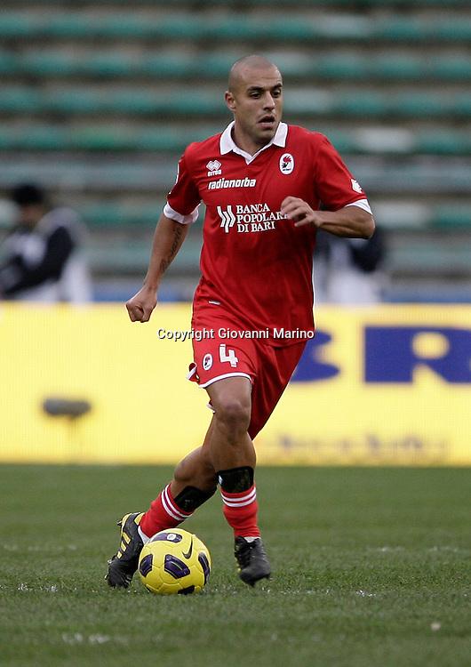 Bari (BA), 23-01-2011 ITALY - Italian Soccer Championship Day 21 - Bari VS Napoli..Pictured: Almiron (B)..Photo by Giovanni Marino/OTNPhotos . Obligatory Credit