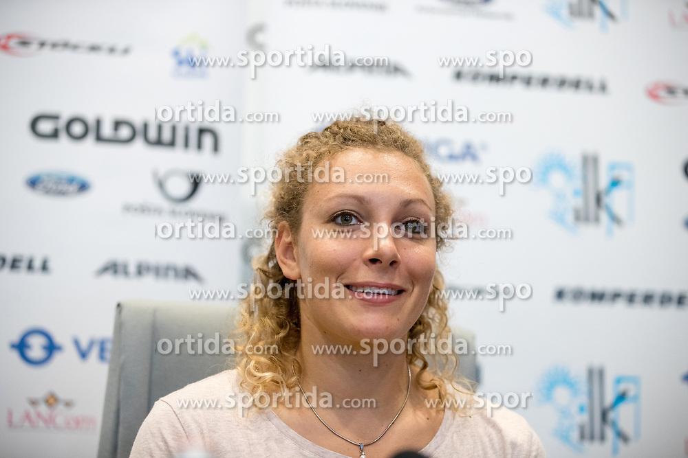 Ilka Stuhec at press conference of Ilka Stuhec before new season 2017-18, on August 22, 2017 in Hotel Cubo, Ljubljana, Slovenia. Photo by Matic Klansek Velej / Sportida