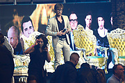 De 3FM Awards 2014 in de Gashouder, Amsterdam.<br /> <br /> Op de foto: Giel Beelen