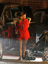"Wayne Rooney, Manchester United footballer and his wife Coleen Rooney are seen leaving the restaurant ""Sa Punta"" in Ibiza, Spain in the company of their children and relatives after enjoying a dinner night on the Spanish island. 27 Jun 2017 Pictured: Coleen Rooney. Photo credit: Elkin Cabarcas / MEGA TheMegaAgency.com +1 888 505 6342"