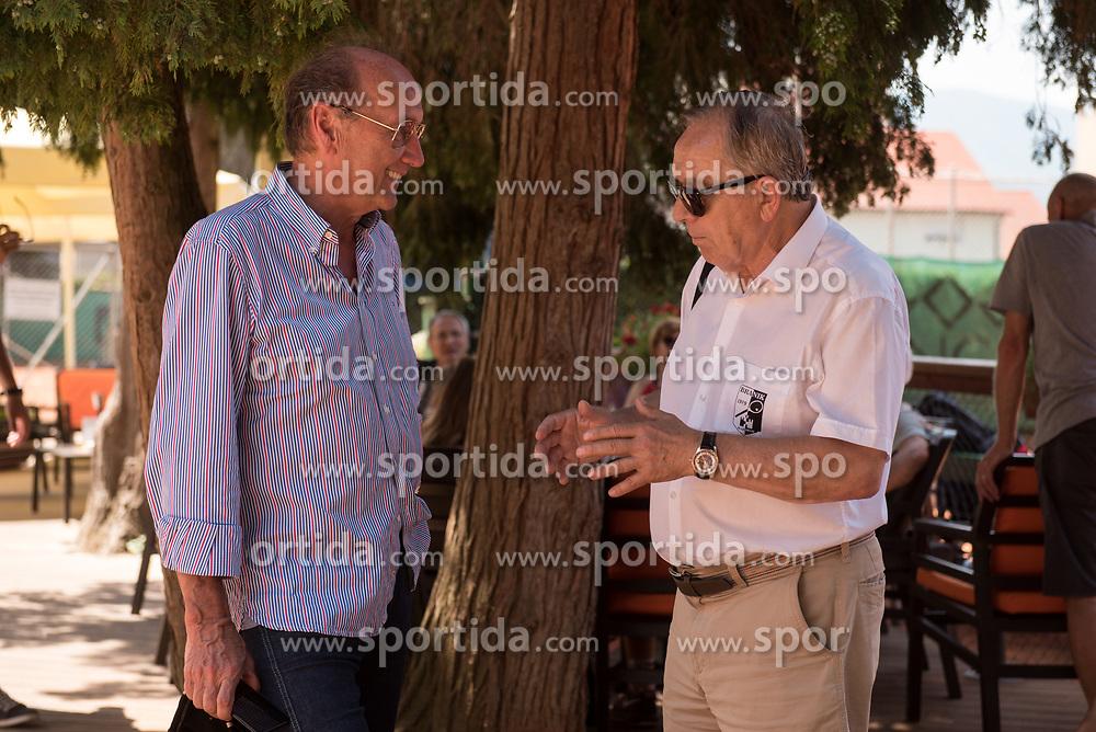 Miran Krasevec and Ivan Gorjup during final of Drzavno prvenstvo v tenisu za clane in clanice, on June 27th, 2019 in Maribor, Slovenia. Photo by Milos Vujinovic / Sportida