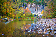 Rourke Bluff on the Buffalo National River in Arkansas