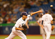 MLB: SEP 12 Red Sox at Rays. Tampa Bay Rays Pitcher Matt Moore.
