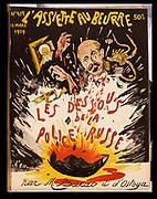 Cartoon on the Russian secret police. From 'L'Assiette au Beurre', Paris, 13 March 1909.