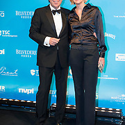 NLD/Amsterdam//20140331 - Uitreiking Edison Pop 2014, Henk Jan Smids en partner Petra Morselt