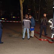 Verdacht poeder Kuinder 1 Huizen, straat afgezet door politie