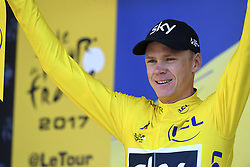 July 18, 2017 - Romans-Sur-Isere, France - ROMANS-SUR-ISERE, FRANCE - JULY 18 : FROOME Christopher of Team Sky during stage 16 of the 104th edition of the 2017 Tour de France cycling race, a stage of 165 kms between Le Puy-en-Velay and Romans-Sur-Isere on July 18, 2017 in Romans-Sur-Isere, France, 18/07/2017 (Credit Image: © Panoramic via ZUMA Press)