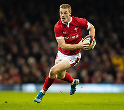 Wales Johnny Mcnicholl<br /> <br /> Photographer Simon King/Replay Images<br /> <br /> Friendly - Wales v Barbarians - Saturday 30th November 2019 - Principality Stadium - Cardiff<br /> <br /> World Copyright © Replay Images . All rights reserved. info@replayimages.co.uk - http://replayimages.co.uk
