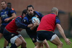 November 20, 2018 - Rome, Italy - Rugby Italy training - Cattolica Test Match.Michele Campagnaro at Giulio Onesti Sport Center in Rome, Italy on November 20, 2018. (Credit Image: © Matteo Ciambelli/NurPhoto via ZUMA Press)