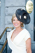 Fashionista Marietta Doran who was one of the Judges  at the Hotel Meyrick Most Stylish Lady event on ladies day of The Galway Races. Photo:Andrew Downes