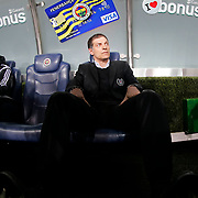 Besiktas's coach Slaven Bilic during their Turkish superleague soccer derby Fenerbahce between Besiktas at the Sukru Saracaoglu stadium in Istanbul Turkey on Sunday 22 March 2015. Photo by Aykut AKICI/TURKPIX