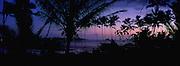 Sunrise, Wailua Bay, Kauai, Hawaii, USA<br />