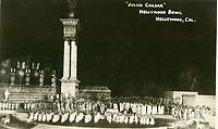 1926 Hollywood Bowl Julius Caesar postcard