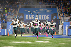 The Philadelphia Eagles lost 24-23 against the Detroit Lions at Ford Field on October 9, 2016 in Detroit, Pennsylvania. (Photo by Drew Hallowell/Philadelphia Eagles)