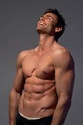 male muscular body torso<br />