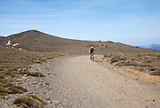 Cycling in Sierra Nevada Mountains, High Alpujarras, Granada Province, Spain
