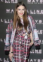 Xenia Tchoumitcheva, Maybelline 'Bring On The Night' Party, The Scotch of St. James, London UK, 18 February 2017, Photo by Brett D. Cove