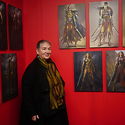 London, England, UK. 22 Feb 2018. Costume designer Lindy Hemming at 'DC Exhibition: Dawn of Super Heroes' photocall, London at at  The O2.