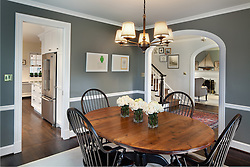 7207 Maple Ave. Chevy Chase, MD Architect builder Anthony Wilder Dining Room