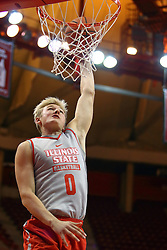 07 October 2016: Isaac Gassman during the Illinois State Redbirds Hoopfest at Redbird Arena in Normal Illinois (Photo by Alan Look)