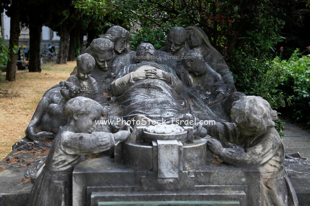 Monumental Cemetery of Staglieno (Cimitero monumentale di Staglieno), Genoa, Italy