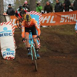 26-12-2019: Wielrennen: Wereldbeker veldrijden: Zolder <br />Tim van Dijke reed naar een vijfde plek