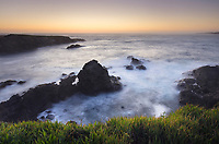 Twilight over Mendocino Headlands, California