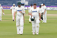 TEA - Mark Cosgrove is not out 79 during the Specsavers County Champ Div 2 match between Durham County Cricket Club and Leicestershire County Cricket Club at the Emirates Durham ICG Ground, Chester-le-Street, United Kingdom on 21 August 2019.