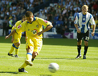 Photo: Aidan Ellis.<br /> Sheffield Wednesday v Leeds United. Coca Cola Championship. 27/08/2006.<br /> Leeds David Healy scores from the spot