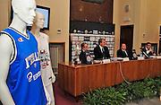 Pesaro , 06/03/2012<br /> Basket, conferenza stampa presentazione all star game 2012<br /> Nella foto: panoramica<br /> Foto Ciamillo