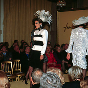 Modeshow Frans Molenaar, modellen