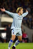 Fotball, 4. november 2003, Champions League,, Club Brugge ( Brügge )-Milan 0-1, Bengt Sæternes, Brugge