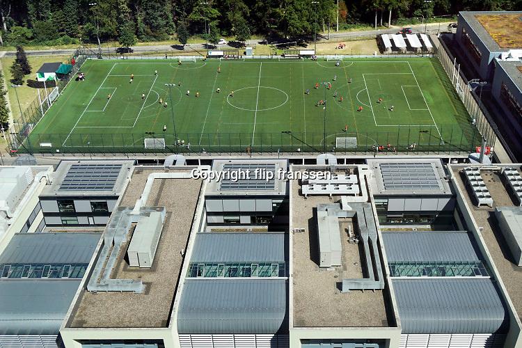 Nederland, Nijmegen, 28-6-2019Sportveld van het universitair sportcomplex, sportcentrum . Foto: Flip Franssen