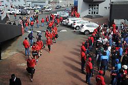 14-07-18 Johannesburg. Emirates Airlines Park. Emirates Lions vs Vodacom Blue Bulls.<br /> The Lions team arrive.<br /> Picture: Karen Sandison/African News Agency (ANA)